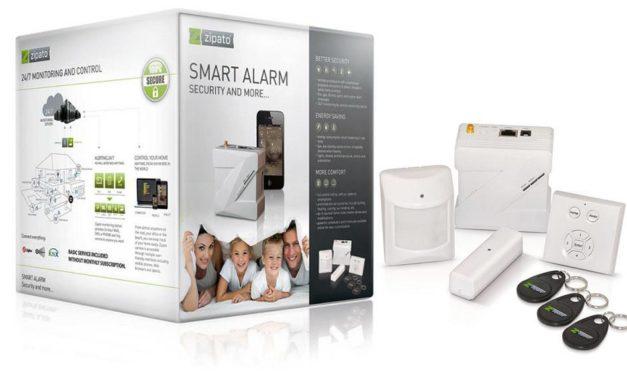 Découverte du kit Smart Alarm Z-Wave de ZIPATO