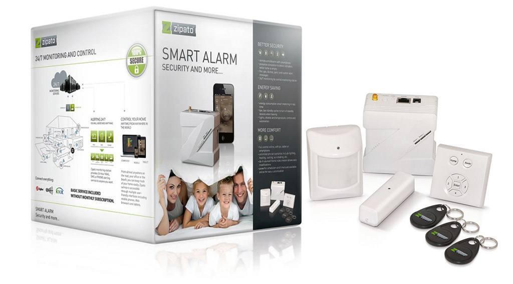 Découverte du kit Smart Alarm de ZIPATO00