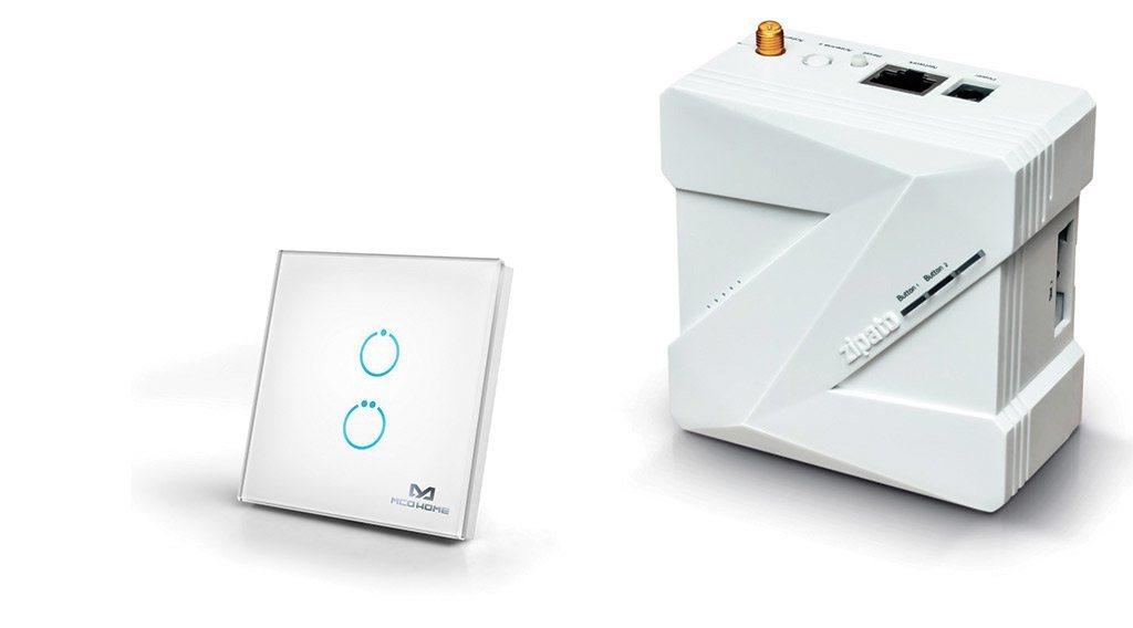 Guide d utilisation de l interrupteur tactile en verre Z Wave 2 charges MCOHOME avec la