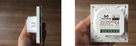 Guide-d-utilisation-de-l-interrupteur-tactile-en-verre-Z-Wave-2-charges-MCOHOME-avec-la-Zipabox02