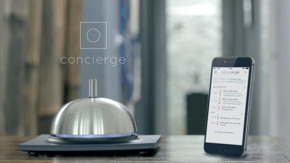 concierge l 39 objet connect qui prend soin de votre maison news domotiques by domadoo. Black Bedroom Furniture Sets. Home Design Ideas