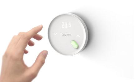 Qivivo présente son nouveau thermostat connecté au CES Unveiled