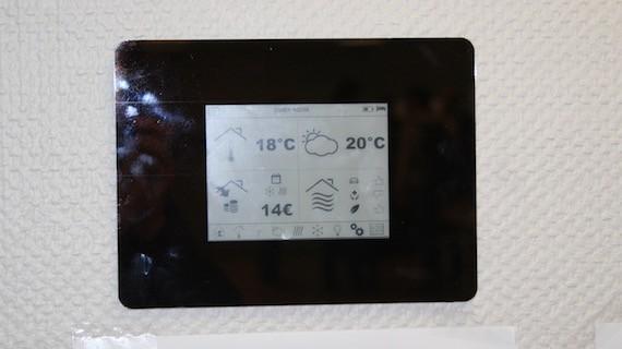 Energy Sav'R, le nouvel écran EnOcean totalement autonome
