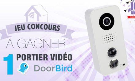 #CONCOURS: 1 portier vidéo connecté Doorbird à gagner !