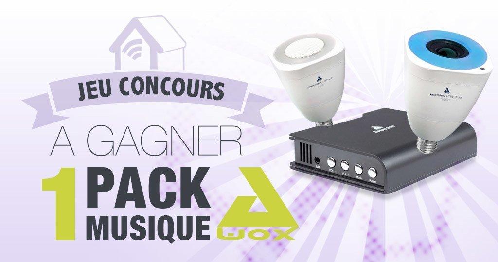 #CONCOURS: Gagnez un pack musique multiroom Awox !