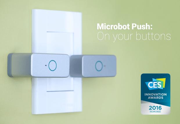Microbot Push remporte un #CES2016 Innovation Awards