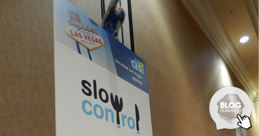#CES2016: Slow control agrandit sa gamme avec Yum and Done