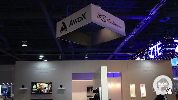 Awox dévoile son interrupteur bluetooth SmartPEBBLE au #CES2016