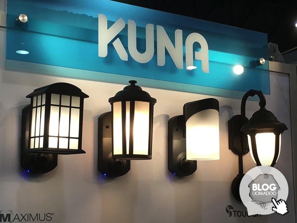 Kuna La Lampe Exterieure Avec Camera Et Alarme News Domotiques By