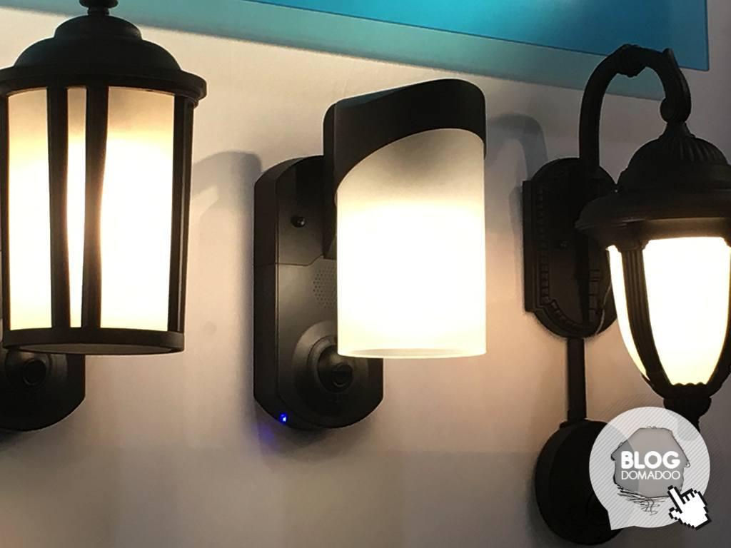 Kuna la lampe extérieure avec caméra et alarme news domotiques