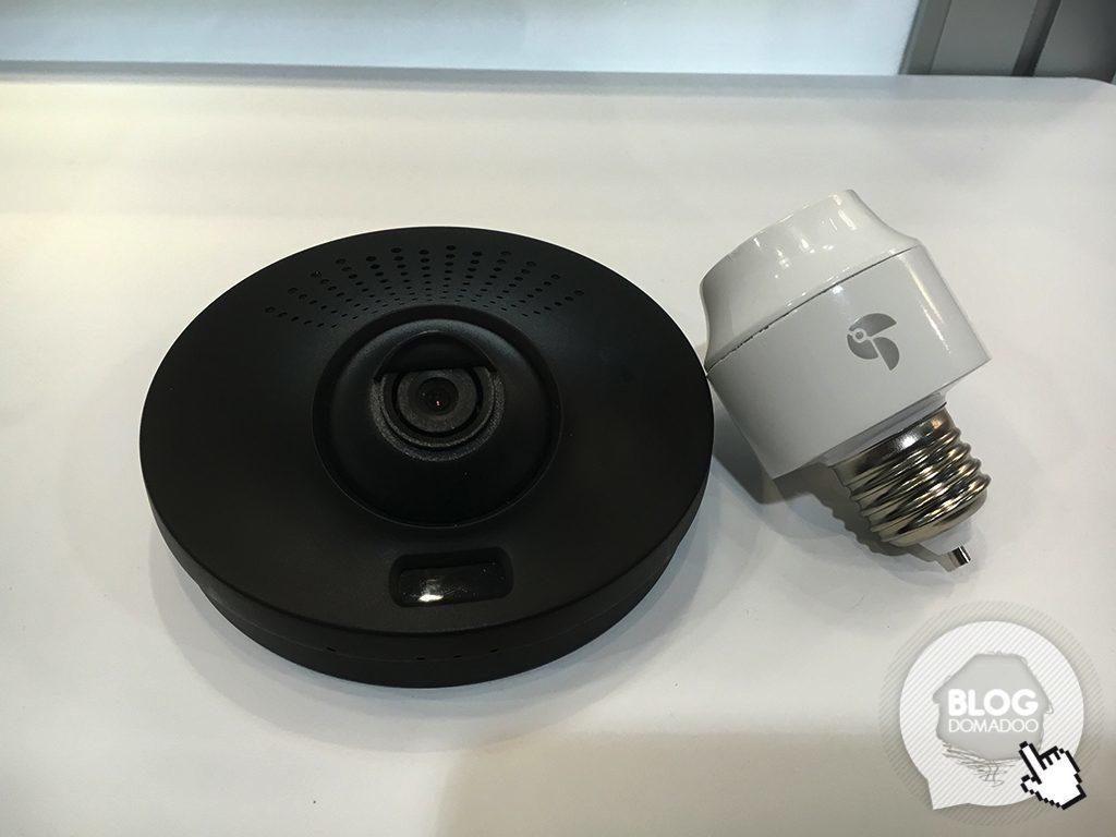 luminaire exterieur avec camera