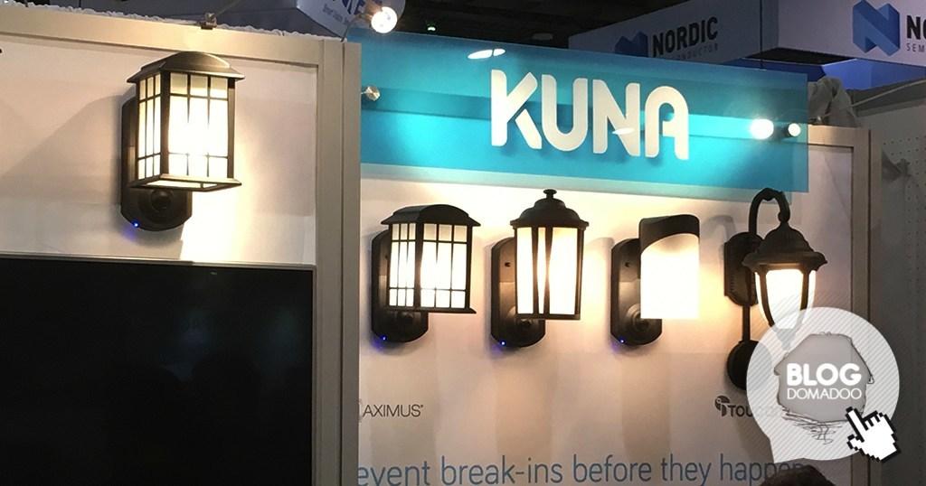Cool Kuna La Lampe Extrieure Avec Camra Et Alarme With Lampadaire Exterieur  Avec Prise De Courant