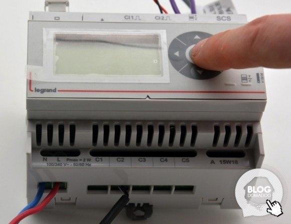 Ecocompteur Legrand : consultez vos consommations d'électricité, eau et gaz chez vous ou à distance