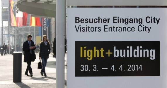 Messe Frankfurt, Light + Building 2014