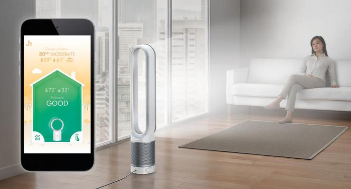 ventilateur connecte Dyson Pure Cool Link