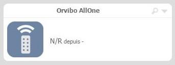 Gérez facilement vos appareils IR avec votre box domotique Eedomus Plus grâce à Orvibo AllOne