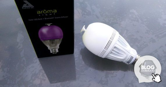 Test de l'ampoule Awox AromaLight Bluetooth BLE