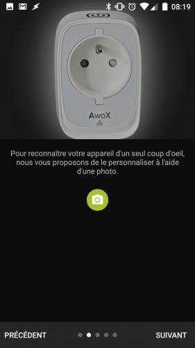 Test de la prise Awox SmartPlug Bluetooth BLE