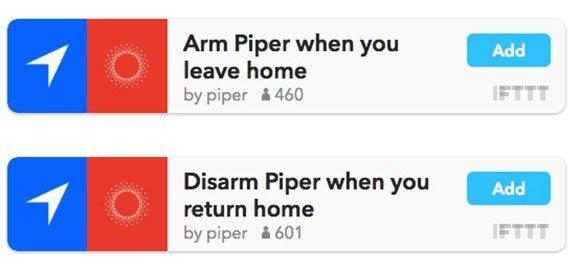 ifttt Piper