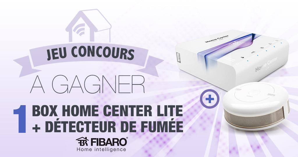 #CONCOURS: Gagnez une box domotique Fibaro HC Lite accompagnée d'un détecteur incendie !