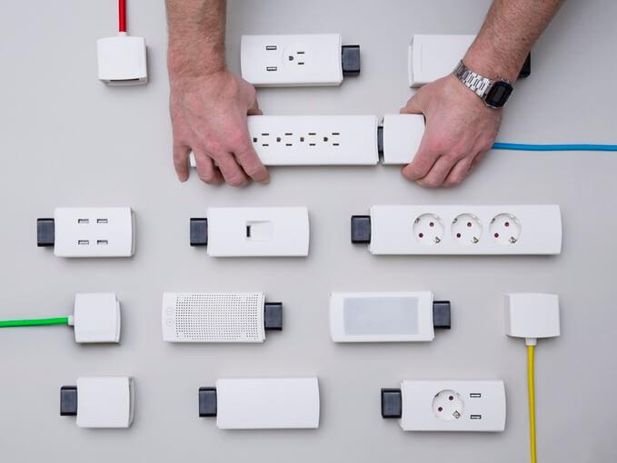 Youmo, la multiprise modulable et connectée