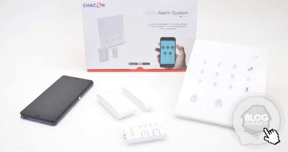 Systeme d alarme gsm chacon domotique