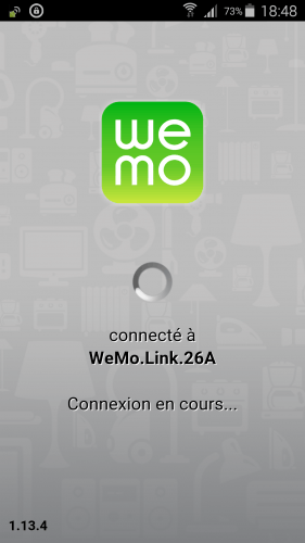[Wemo App] 03 premier lancement application Wemo