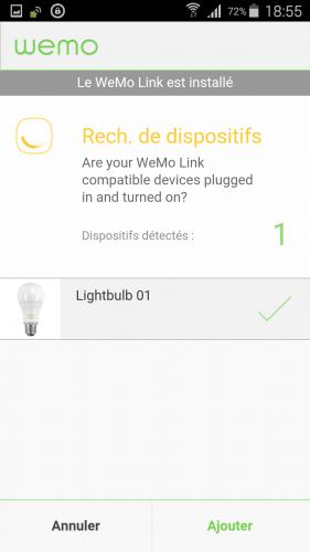 [Wemo App] 07 Jumelage