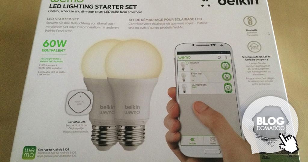 belkin wemo lamp kit une