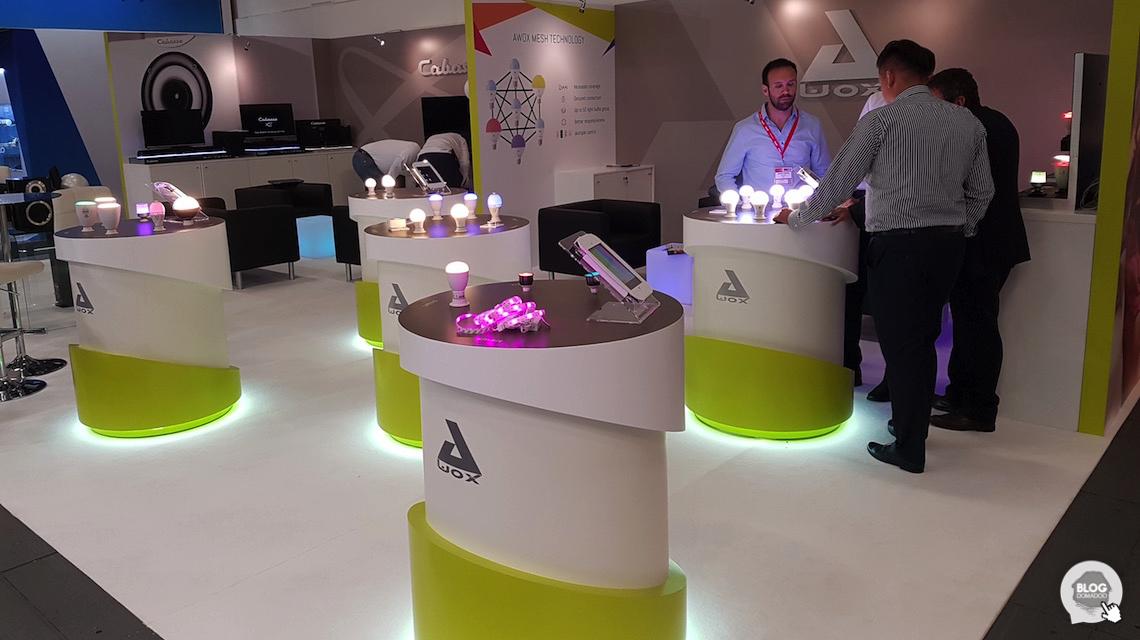 Awox présente ses nouvelles ampoules utilisant le Bluetooth mesh à l'#IFA2016