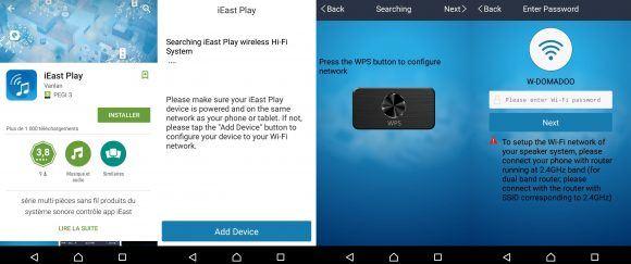 Maîtrisez votre musique avec le lecteur Cloud Audio HD Wifi Multiroom Sonoe iEast