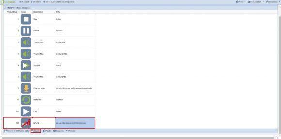Intégrer son lecteur cloud audio HD Wifi Multiroom Sonoe iEast à sa box domotique Eedomus