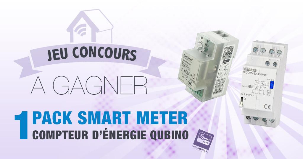 #CONCOURS: Gagnez un Pack Smart Meter Z-Wave+ et un interrupteur bistable 32A
