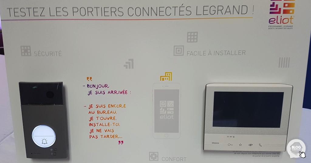 Legrand présente son portier Classe 300 connecté au CES Unveiled Paris