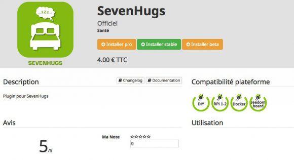 sevenhugs-jeedom-plugin
