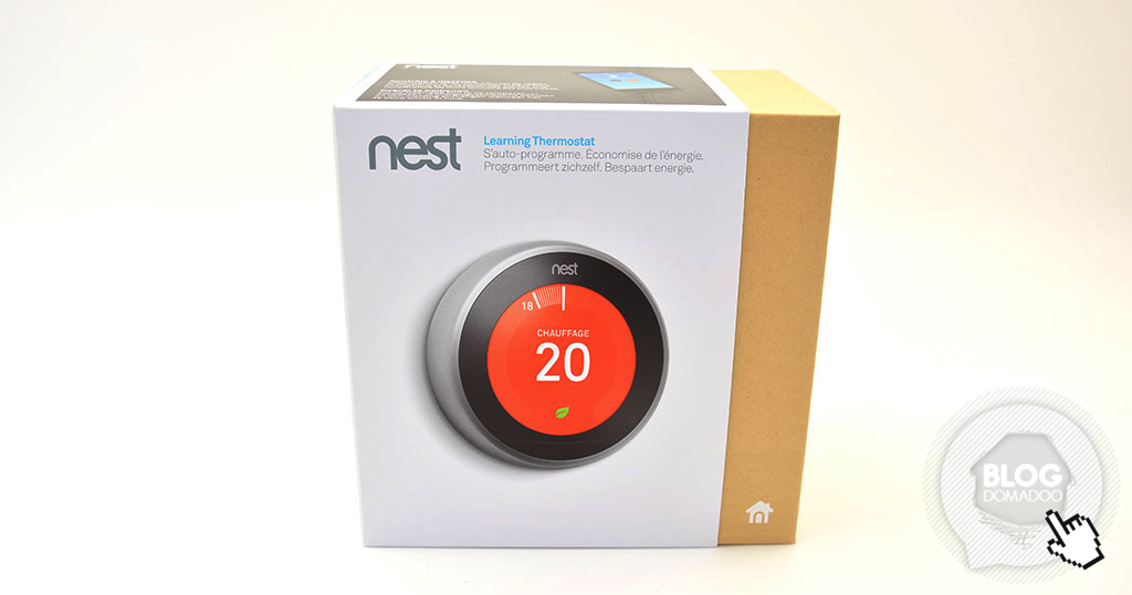 thermostat nest 3 une