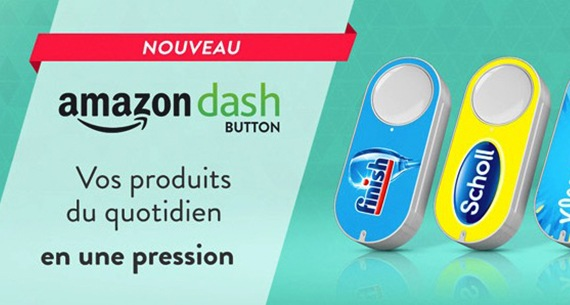Amazon dash button une
