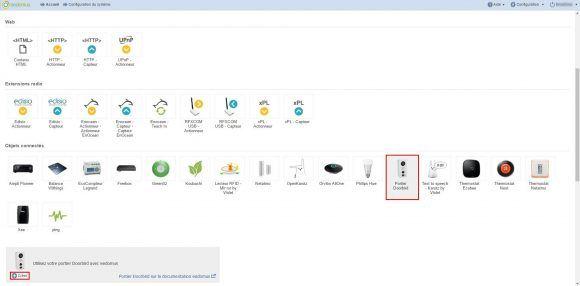Connectez votre portier video IP Doorbird à votre installation domotique via la box Eedomus