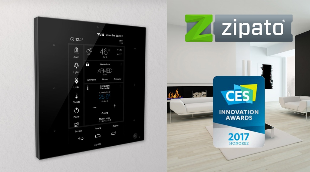 zipatile CES innovation award 2017