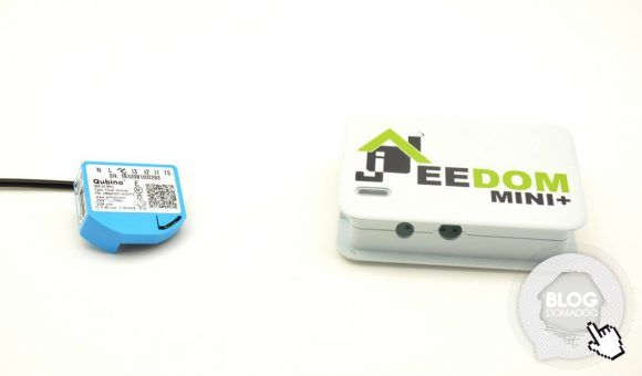 Variez votre eclairage à volonté avec le micromodule ZMNHDD1 Qubino et la box Jeedom