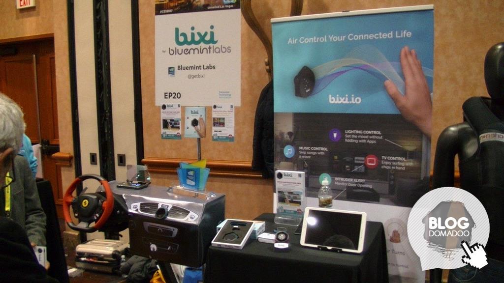 #CES2017 : Bluemint Labs présente sa télécommande sans contact Bixi 2.0