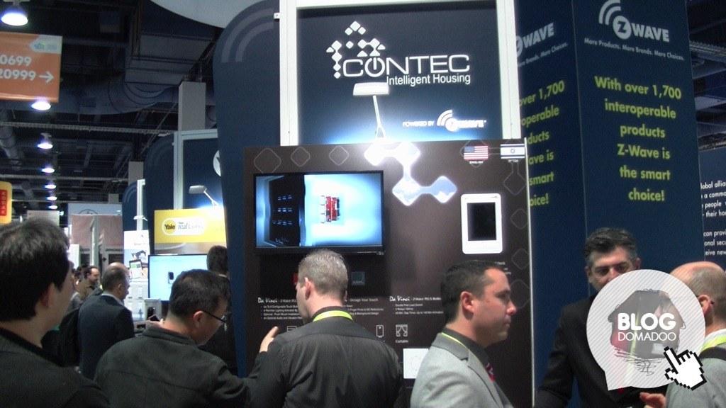 #CES2017 : Contec présente ses interrupteurs design et son module rail DIN Z-Wave
