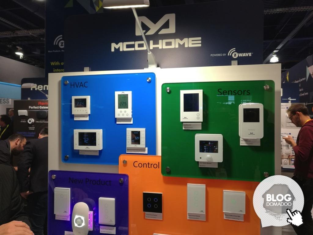 MCOHOME présente de nouveaux produits Z-Wave durant le #CES2017