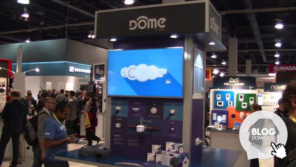 Dôme présente ses solutions Smarthome Z-Wave et Wi-Fi durant le #CES2017