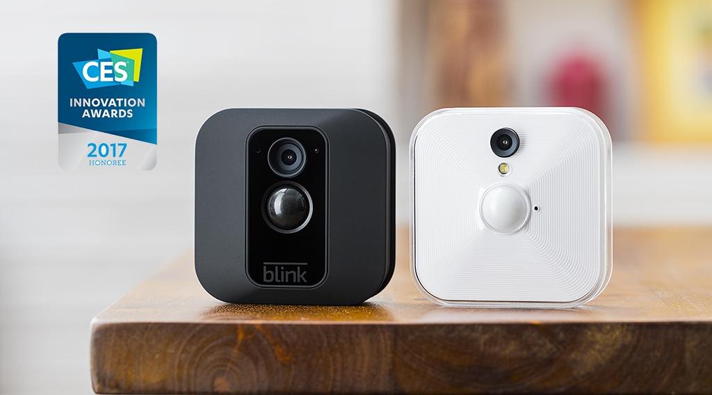 Blink, la caméra de sécurité connectée obtient un #CES2017 Innovation Award