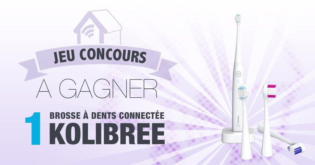 #CONCOURS: Gagnez une brosse à dents connectée Kolibree !