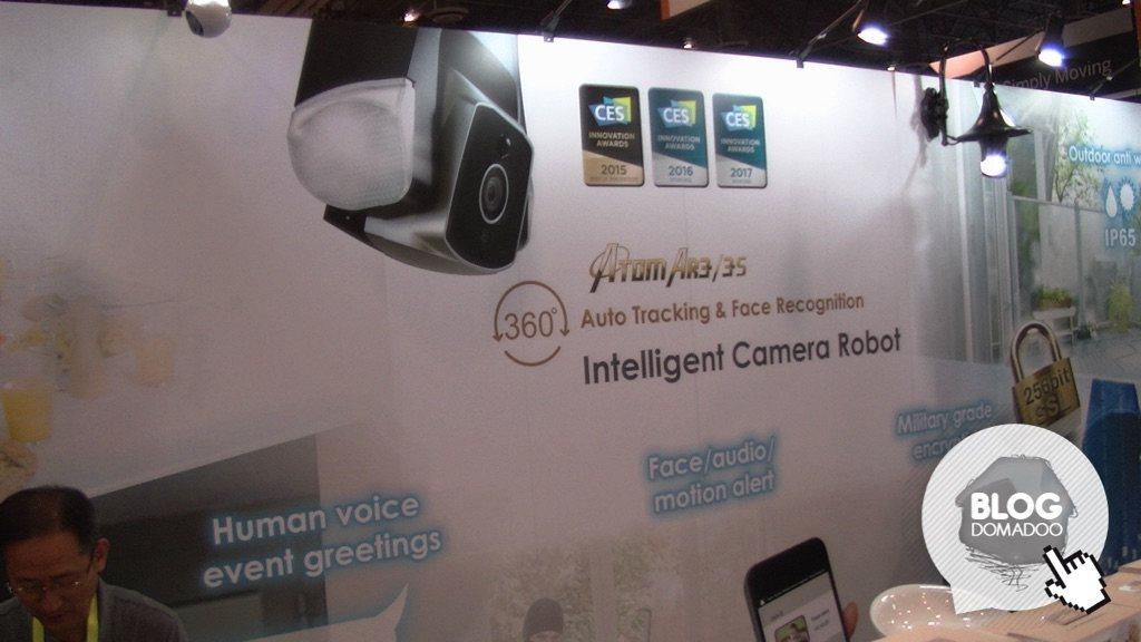 Amaryllo présente sa caméra Atom AR3 au #CES2017