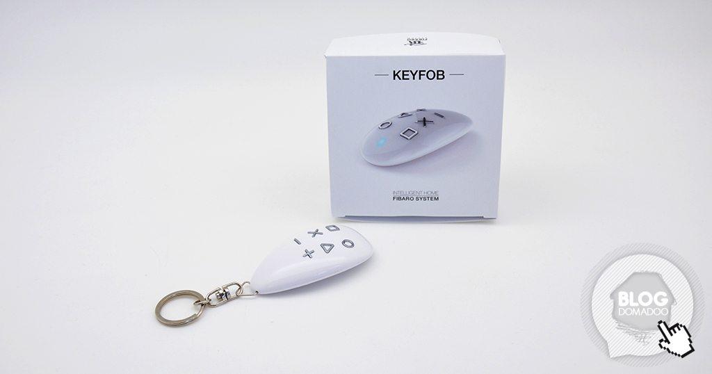 Découverte de la télécommande porte-clé Z-Wave+ Fibaro Keyfob