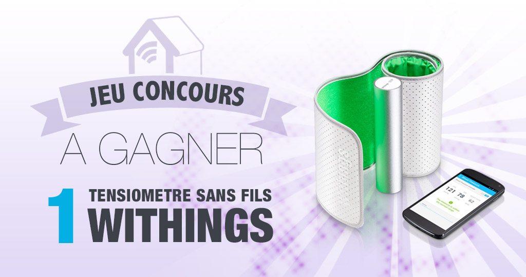 #CONCOURS: Gagnez un tensiomètre connecté Withings !