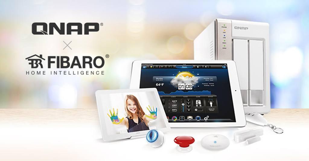 Qnap s'associe à Fibaro pour intégrer la domotique dans ses NAS